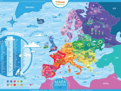 Akcja edukacja - program promocyjny z Mapą Zdrapką